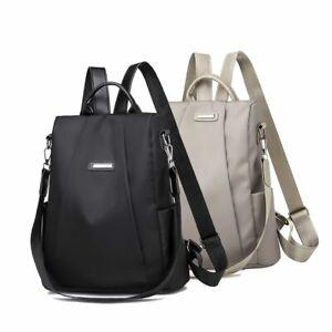 Women Travel Backpack Anti-Theft Rucksack Waterproof Oxford Cloth School Bag US