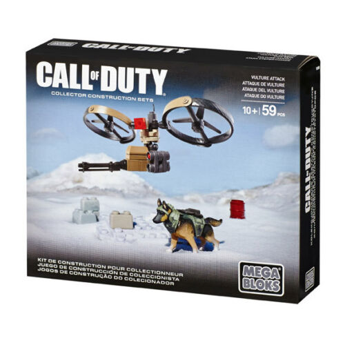 DCL00 Mega Bloks Call of Duty Vulture Attack Collector Construction Set