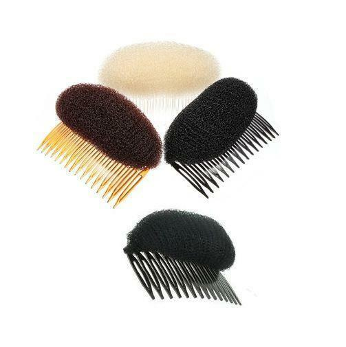 Hair Bump Bun Shaper with adjustable comb with beehive look