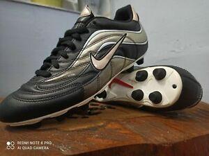 Nike Mercurial R9 Noir Fixed Gear UK 9 US 10 Chaussures De Football Soccer Crampons très rare