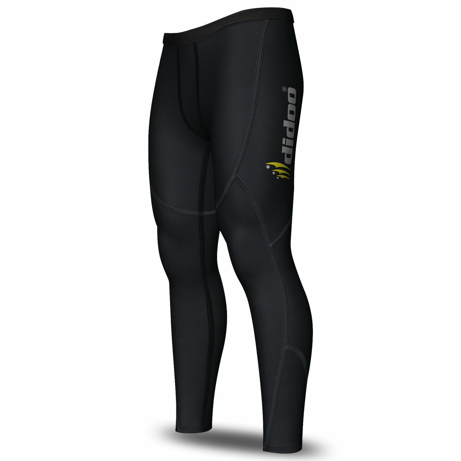Mens Thermal Compression Base Layer Pants Running Skin