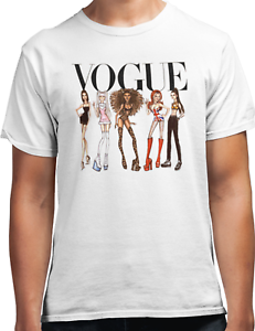 90s pop girl band tee SPICE GIRLS VOGUE loose fitting unisex Fan T-Shirt