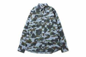 BAPE-1st-Camo-x-Gingham-Check-Shirt-button-down-collared-A-bathing-Ape-2013-MED