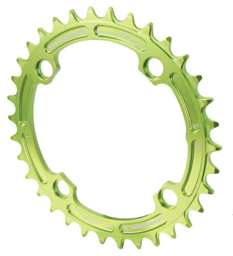 104mm BCD 34t Green Race Face Single Narrow Wide 1x MTB Chainring
