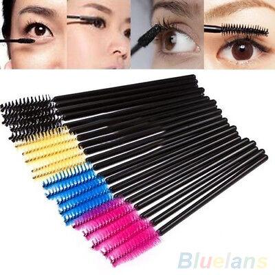 50Pcs Disposable Eyelash Brush Cosmetic Makeup Tool Mascara Wands Applicator
