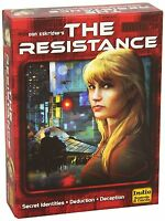 THE RESISTANCE 2ND EDITION Card Game Indie Boards and Cards NEW Toys on Sale
