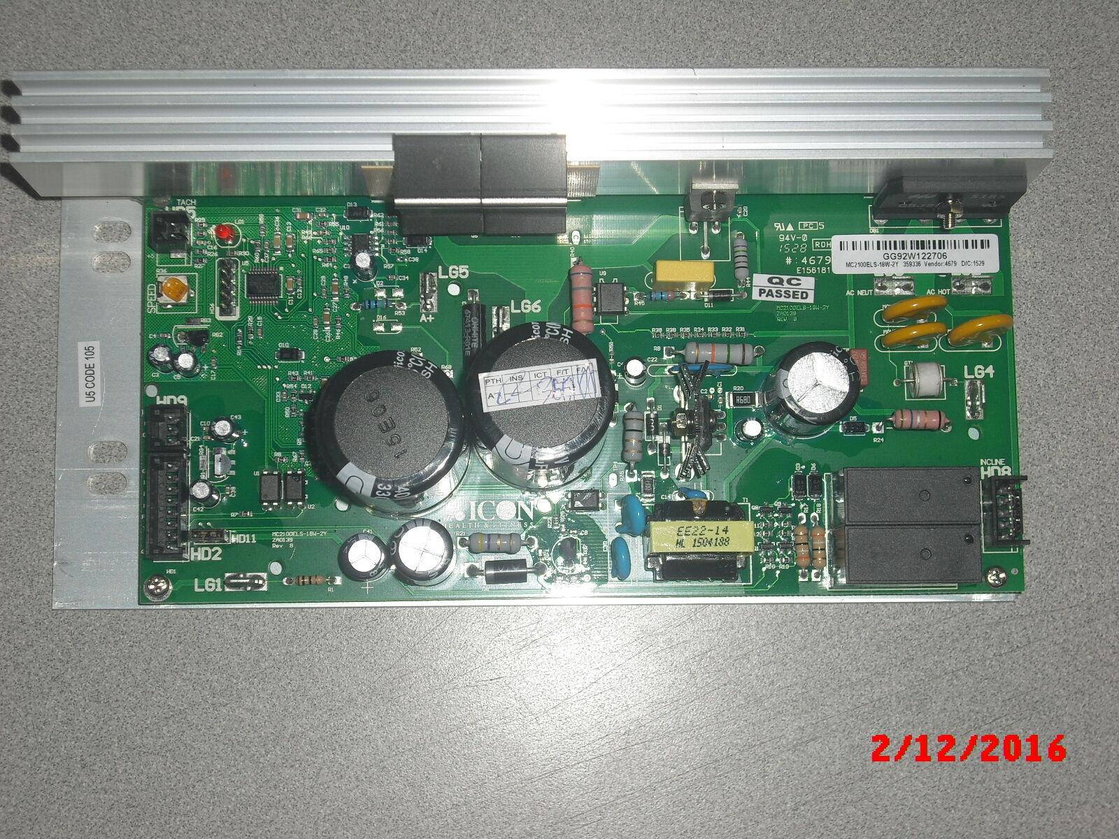 MC2100E MC2100 ELS MC2100 ELS 18w-2y Europe 220 vTreadmill Motor Motor Motor Control 359336 6154c3