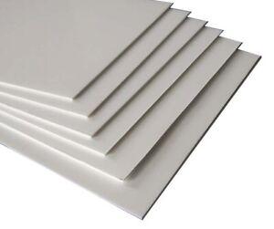 Styrene Sheet High Impact Polystyrene White Plasticard HIPS A5-A3 1, 1.5, 2, 3mm