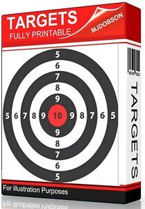 Shooting-Targets-1700-Various-Practice-Air-Rifle-BB-Gun-Bow-Sling-Shot-DOWNLOAD
