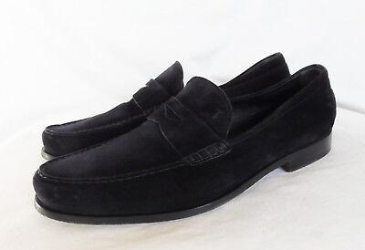 .tod's 100% Autenticos Zapatos Hombre. Piel Ante Azul. Cuero. Talla 9,5 Eu 43,5