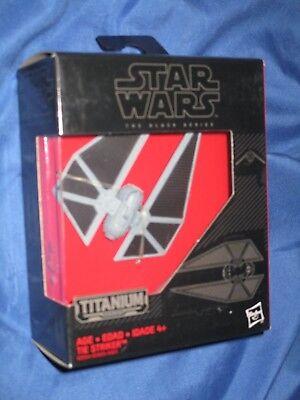 Star Wars Hasbro Black Series Titanium Series Die-Cast Starship Tie Striker #30
