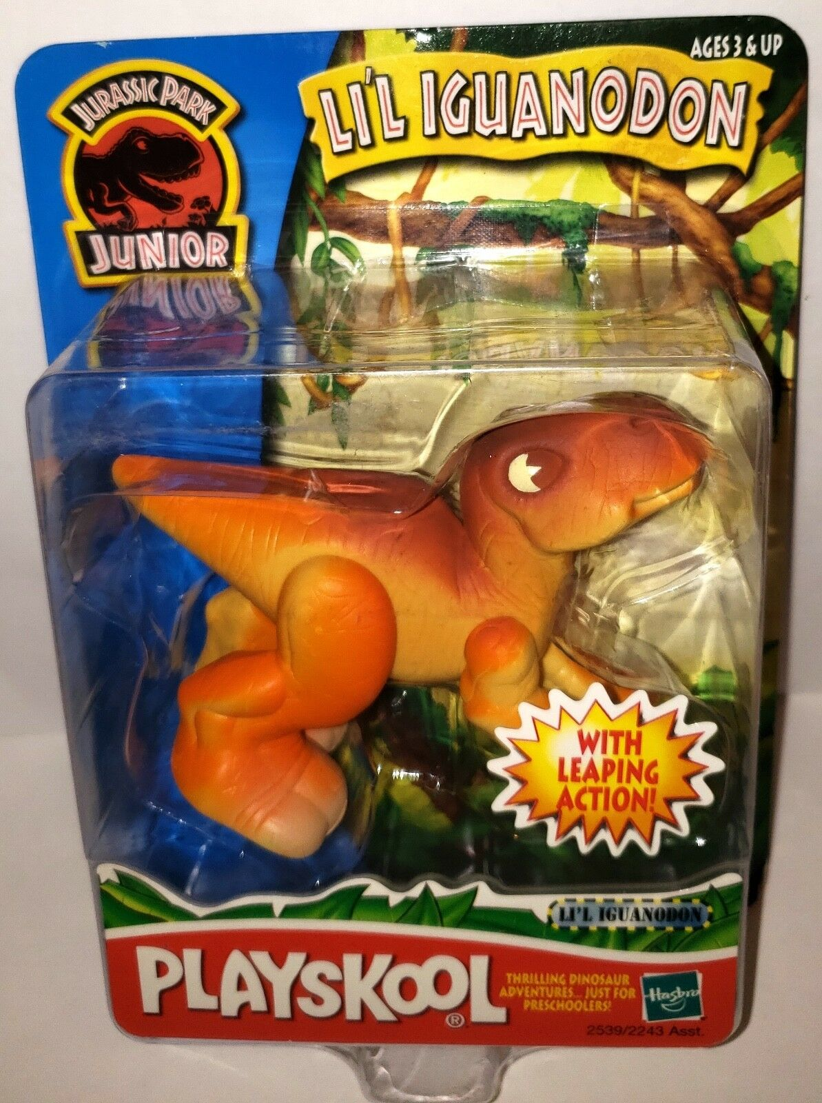 (neu) jurassic park junior jr. playskool werden iguanodons dinosaurier - spielzeug