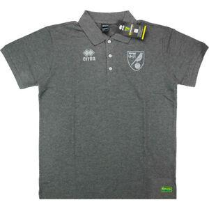 2016-17 Norwich Errea Voyage Polo Shirt Gris Large Td094 Kk 03-afficher Le Titre D'origine