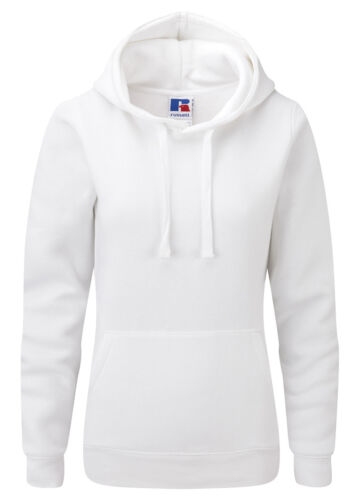 Russell Womens Warm Heavyweight Hooded Sweatshirt Ladies Fit Pullover Hoodie New