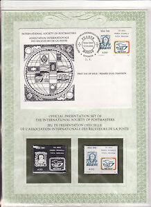enveloppe-timbre-neuf-et-argent-association-receveurs-de-la-poste-Mexique