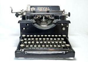Antique 1919 Royal Typewriter Model 10 ~ Works ~ X-323296