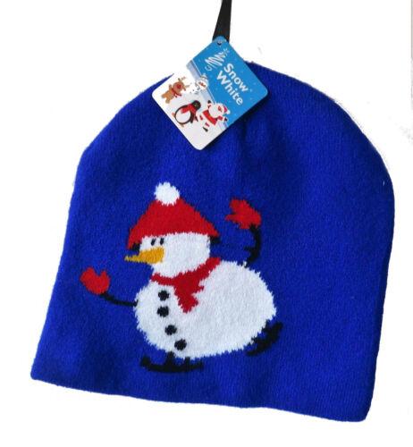 Noël Bonnet Beanie Bonhomme De Neige Pingouin Santa Renne Nouveauté Secret Santa Cadeau