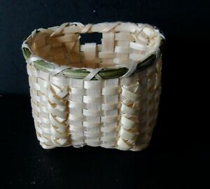 Penobscot Small Carrot Rattle Basket by Pam outdusis Cunningham