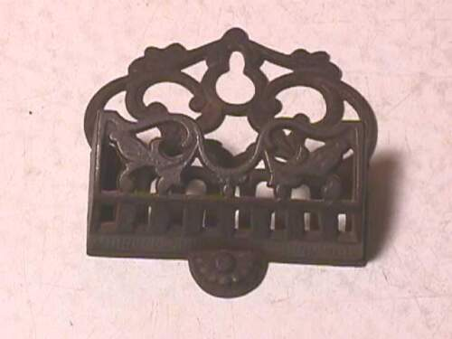 Antique Cast Iron Match Holder Wallmount