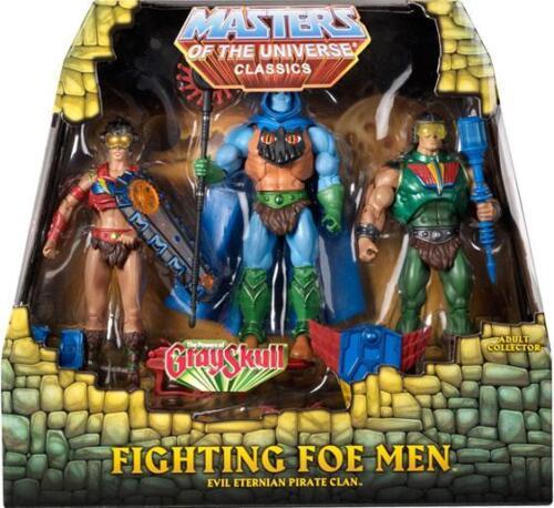 #Auspack# The Fighting Foe Men 3-PACK Masters Classics He Man MOTU