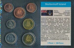 Stoltenhoff-Island-2008-Stgl-unzirkuliert-Kursmunzen-2008-1-2-Penny-until-25-Pe