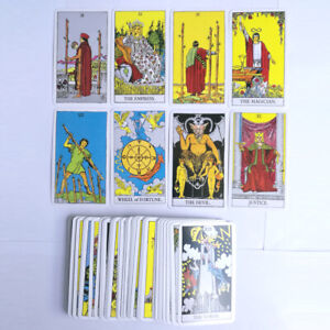 The-Most-Popular-Tarot-Deck-78-Cards-English-Version-Future-Telling-Sealed
