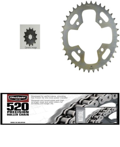 Front /& Rear St Sprocket Kit for HONDA ATC200X 1984-1987 520 Precision Chain