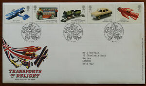 Transports-Of-Delight-Royal-Mail-First-Day-Cover-with-Insert-18-Sept-2003