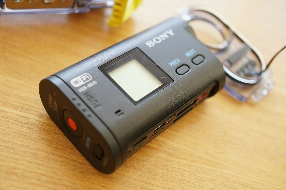 Actioncam, Sony, HDR-AS15