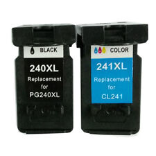 Ink Cartridge for Canon PG-240XL/CL-241XL Combo (1 Black 1 Color)