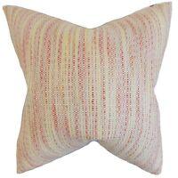 The Pillow Collection 18 Square Lakota Stripes Throw Pillow on sale