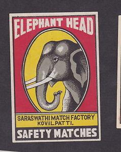 Ancienne étiquette Allumettes de paquet Inde BN12682 Eléphant hLvH0pOu-09154348-177598354