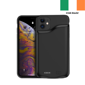 Iphone 6 7 8 X XS XR 11 12 Smart Battery Case 6000 mAh Ultra Slim Charging Case