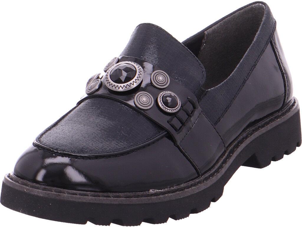 Tamaris señora señora señora woms slip-on Slipper negro  Entrega rápida y envío gratis en todos los pedidos.