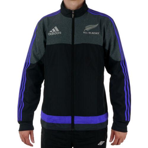 e9cb0b35dd 1 of 9 Jacket Adidas All Blacks Presentation mens sport windbreaker
