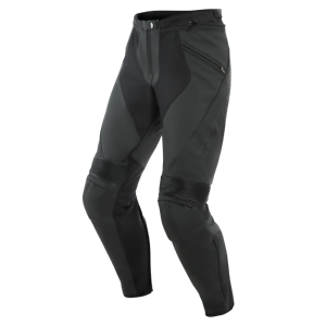 New-Dainese-Pony-3-Perforated-Leather-Pants-Men-039-s-EU-46-Black-155371207646