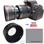 58MM-WIDE-ANGLE-LENS-HOOD-FOR-Canon-Rebel-EOS-T2-T2I-XI-T3-T3I-T4-T5-T6-7D-6D thumbnail 2