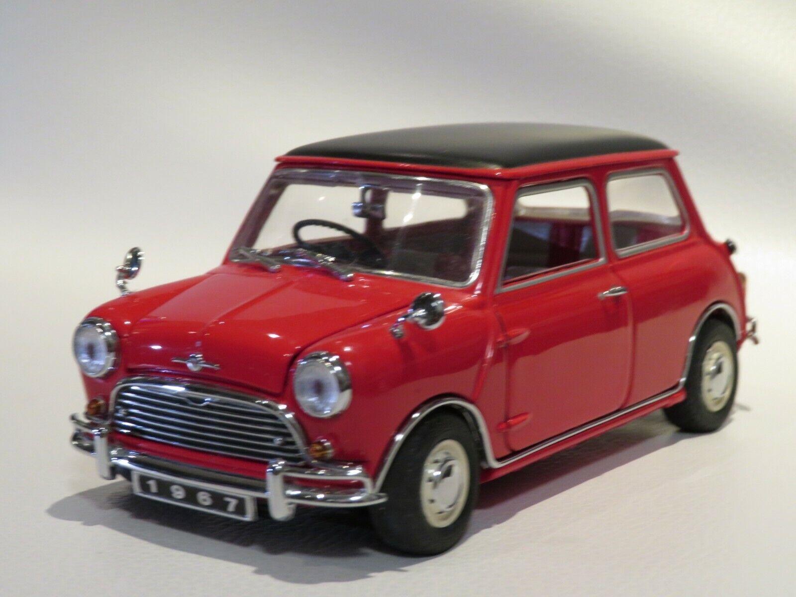 1 24 FRANKLIN Comme neuf Morris Mini Cooper S Diecast