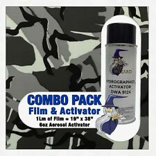 Hydrographic Film Activator British Camouflage Camo Hydro Dip Dipping Wizard
