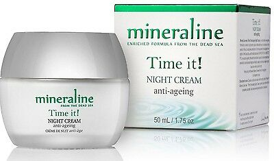 Anti-Aging NIGHT Cream   mineraline, with dead sea mineral, FREE Shipment 1.7oz