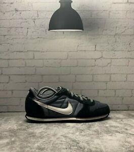 Autocomplacencia espejo cocaína  Zapatillas Nike de mujer Genicco Negro Gris 644451-018 Low Top Con Cordones  Zapatos Talla 10 | eBay