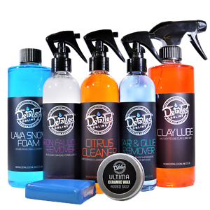 Car-Exterior-Cleaning-Kit-Valeting-Detailing-Ceramic-Wax-Sio2-Clay-Iron
