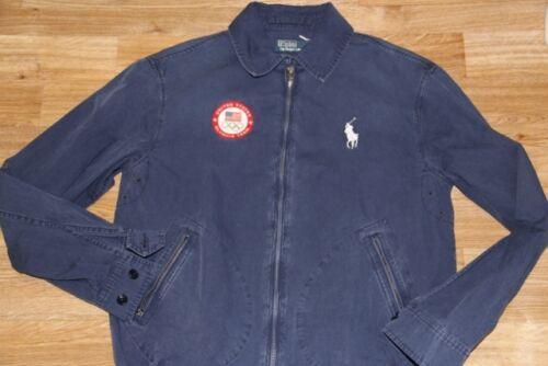 Jacket Lauren Track Usa Windbreaker Big Ralph Men Olympic Pony Sweater Polo S HED2I9WY