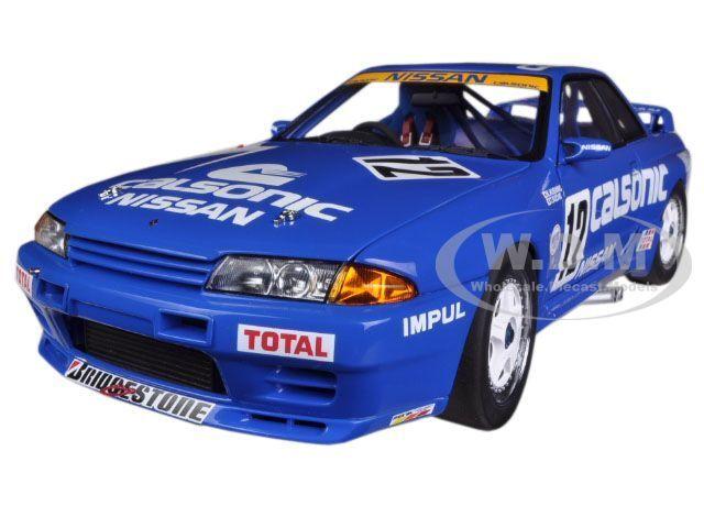 NISSAN SKYLINE GT-R  R32  GROUP A 1990 CALSONIC  12 1/18 AUTOART 89079