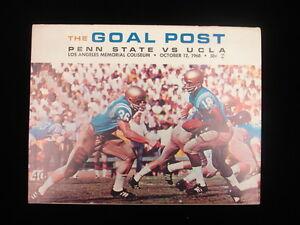 October 12, 1968 Penn State vs. UCLA Football Program