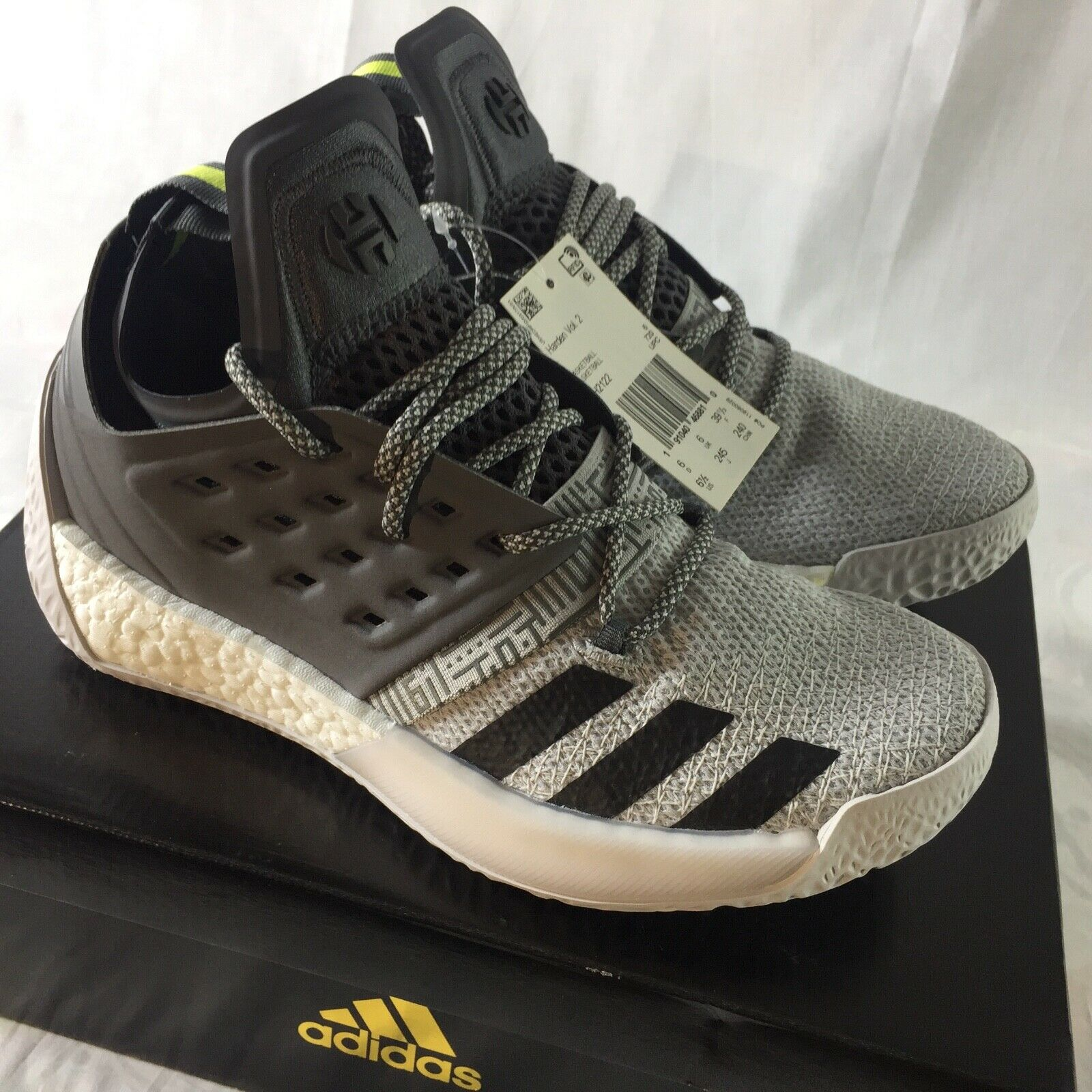 Adidas Adidas Adidas Harden Vol. 2 Men's Size 6.5 Boost Basketball shoes Sneakers NEW AH2122 6fe666
