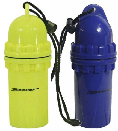 LARGE DRY CANISTER for Keys Glasses Gear ORing Seal Waterproof STRONG Dive Boat