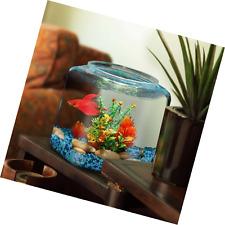 Hawkeye 2 Gallon Fish Bowl, Hex Shaped, Shatterproof Plastic