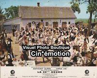 Photo Cinéma 23.5x29cm (1967) LA 25ÈME HEURE Anthony Quinn, Virna Lisi BE b