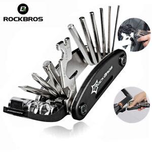 RockBros-Fahrrad-Reparatur-Tool-Bike-Multi-Funktion-Falten-Werkzeug-16-in-1